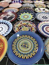 厂家直销 陶瓷餐具 彩绘陶瓷饭碗 简约陶瓷米饭碗 礼品定制