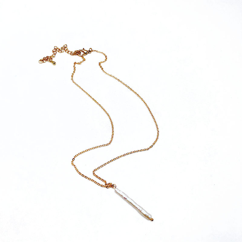 Alloy Fashion  necklace  (Square bag of alloy)  Fashion Jewelry NHOM1521-Square-bag-of-alloy