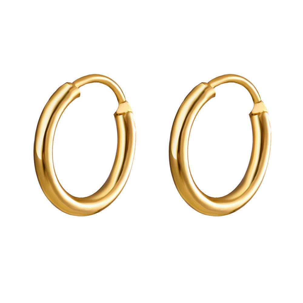 Creative Heart-shaped Ear Hoop Earrings New Trend Street Shooting Earrings Set NHPJ199623