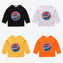 琦盈童装儿童长袖t恤男童打底衫2020春秋冬新款时尚厂家一件待发