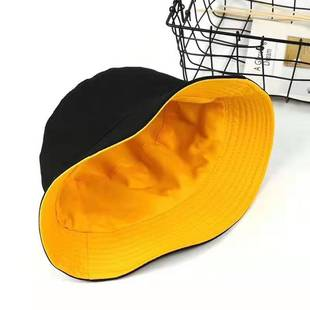 Fisherman hat new Korean letter basin hat leisure outdoor men and women travel sun shade hat embroidered beach hat