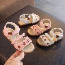 Sandal bé gái, mẫu hè mới đơn giản, thiết kế đáng yêu