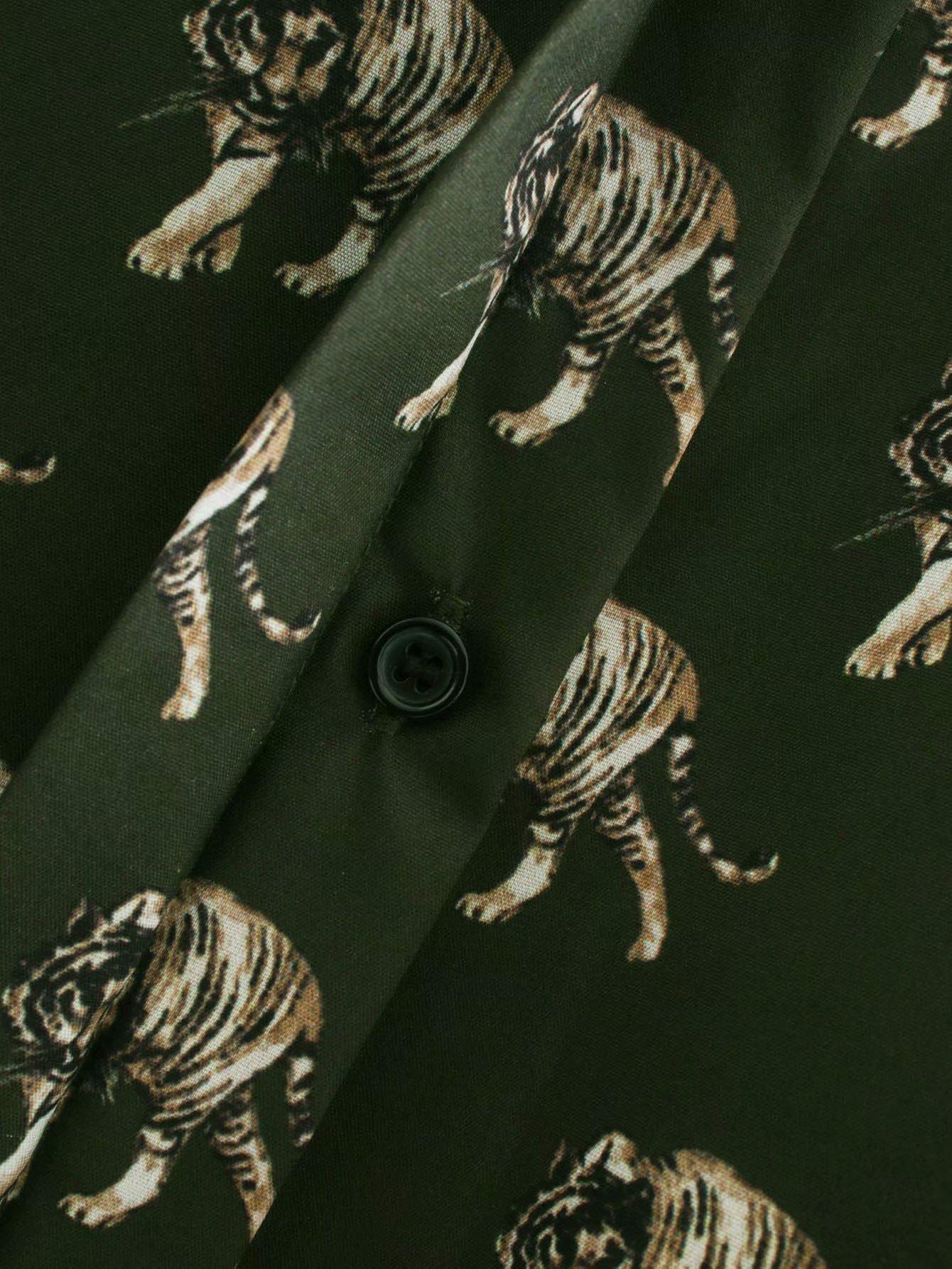 Wholesale winter print women's chiffon shirt top NHAM179861