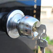 艾比欧5831不锈钢室内球形门锁家用老式球锁圆锁子通用型房门锁具