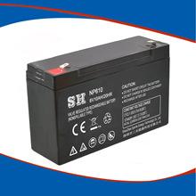 6v10ah铅酸免维护蓄电池NP6v12ah儿童童车音响专用蓄电池 6v10ah