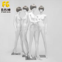 Cửa hàng quần áo mô hình đạo cụ nữ cơ thể đặc trưng khuôn mặt khuôn mặt người mẫu quần áo mô hình hiển thị hình nộm mô hình khung Đạo cụ trưng bày quần áo