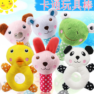 Sounding Animal Toys Q Meng Zoo Mushroom Toy Teddy Dog Pet Products Factory Direct Sales