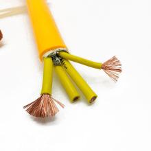 橡套电缆 三相四线YCW3*25+1*10平方多股铜芯橡套软电缆线3芯电缆