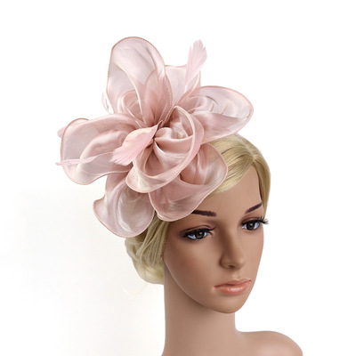 Party hats Fedoras hats for women creative and beautiful Organza hat and headwear