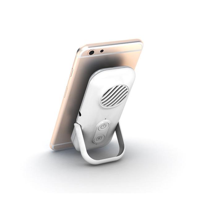 蓝牙音箱带手机背夹自拍音箱手机支架迷你轻薄4欧3W喇叭支持OEM