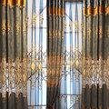 新款廠家批發雪尼爾歐式繡花窗簾臥室客廳成品定制遮光窗簾布特價