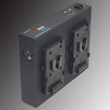 占美搖臂V口鋰離子電池電源轉換器 雙電池不間斷供電 工作持久