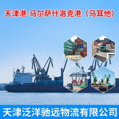 批发供应MSC船国际物流服务 天津港到马尔萨什洛克港海运