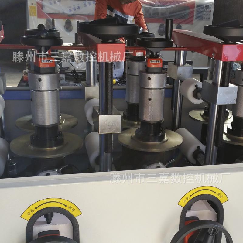断桥铝穿条设备 断桥铝型材滚压机 复合辊压机 铝塑铝穿条机