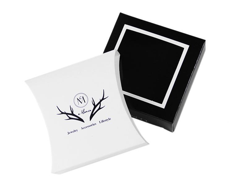 fashion jewelry packaging box jewelry box ring necklace earrings small carton wholesale nihaojewelry NHTF222259
