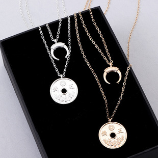 Womens portrait plating  alloy Necklaces NHNZ122087