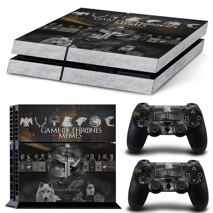 Chevalier PS4 Game Console Sticker Game of Thrones Game of Thrones Skin Sticker