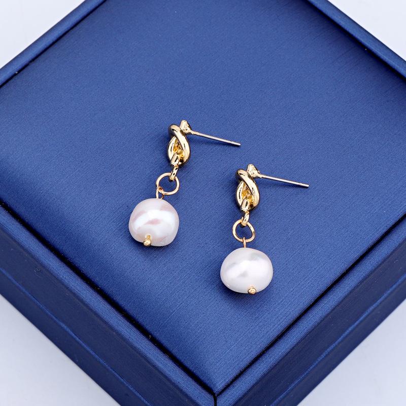Fashion long beads earrings NHGO131071