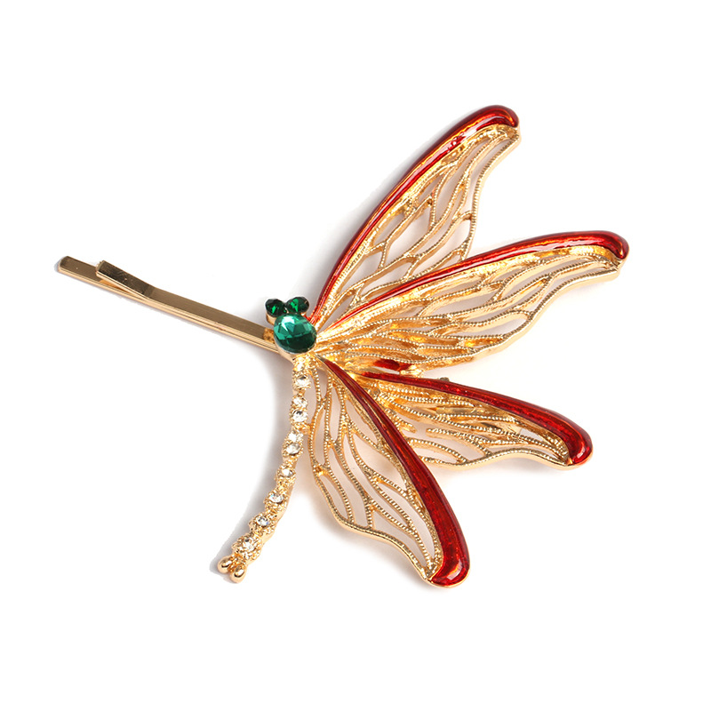 Womens insect-encrusted hybrid material Hair Accessories NHJJ124955