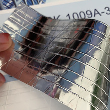 厂家直销 防火隔热保温材料铝箔贴面纸 复合铝箔贴面批发供应