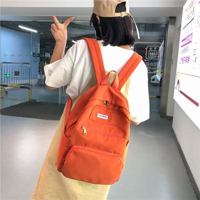 Cặp sách thiếu nữ, hai quai, phong cách Hàn Quốc, kiểu dáng đơn giản, phong cách Nhật Bản, phong cách học sinh