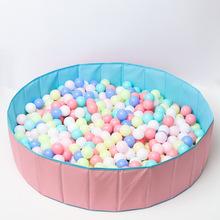 供應便攜可折疊兒童室內游戲海洋球池布制帳篷親子互動玩具布球池