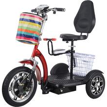 可折疊電動三輪車成人女士小型老年老人電動車接送孩子迷你代步車