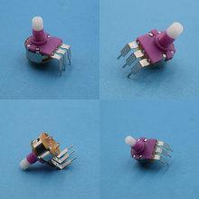 149开关电位器 耐高压紫色套件 台灯调光电位器高低台123脚旋钮帽