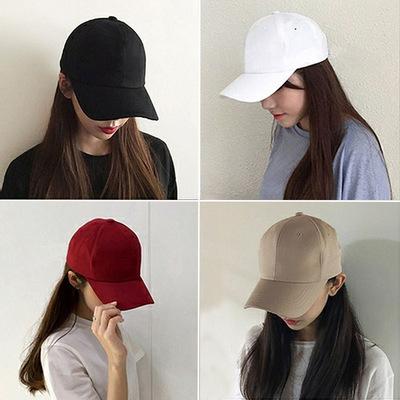 Pure hat custom logo dark men summer beach sunhats sunshade baseball cap curved brim cap children summer beach sunhats fashion
