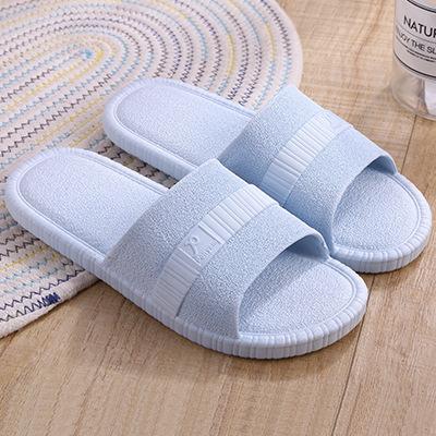 拖鞋 夏季新款浴室凉拖鞋女防滑软底家居拖鞋情侣耐磨纯色凉拖男