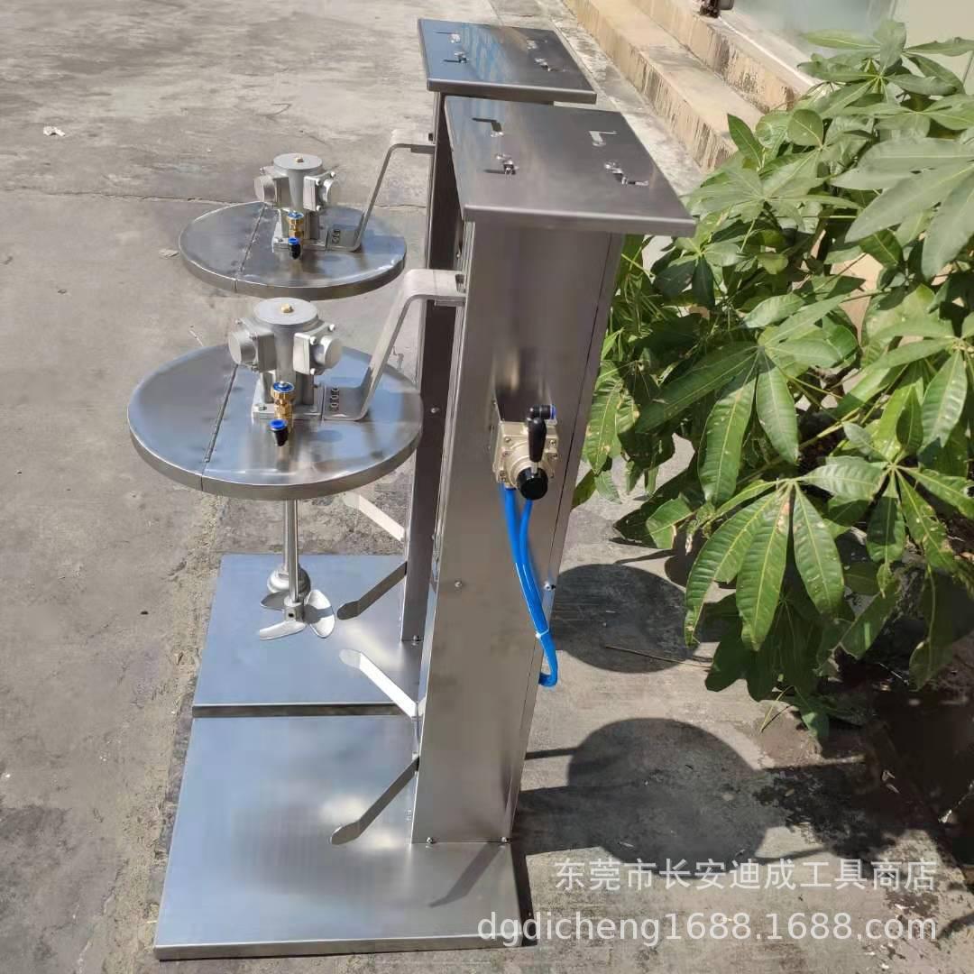全不锈钢自动升降架 泵浦升降台 搅拌机升降架 气动升降台 一体架