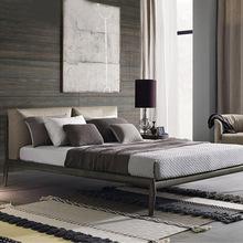 北欧实木床全实木环保床主卧室婚床儿童环保床白蜡木实木双人床