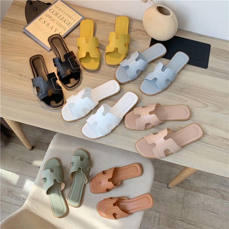 Slippers women's summer sandals fashion...