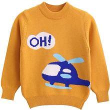童装儿童羊绒衫男童圆领厚毛衣秋冬打底衫新品中大童毛线衣针织衫