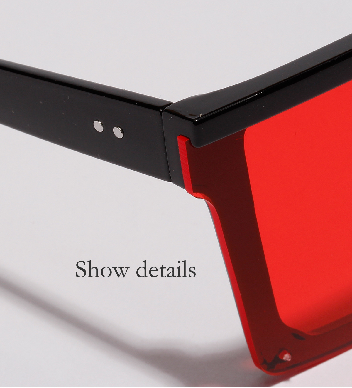 new avantgarde with onepiece lens big box UV protection sunglasses wholesale  NHXU250278
