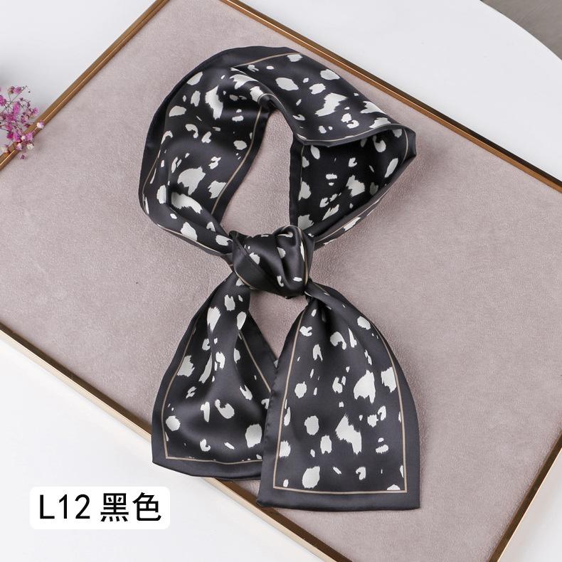 Cloth Korea  scarf  (L12 gray white)   NHTZ0452-L12-gray-white
