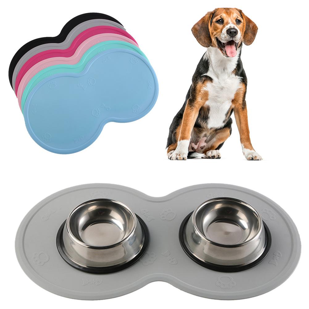 热销硅胶宠物餐垫 防滑耐磨垫隔热垫 云朵硅胶宠物垫 狗食物垫