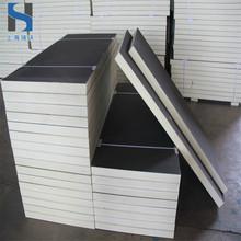 冷库板聚氨酯100mm 高强度硬泡聚氨酯保温板 屋顶隔热聚氨酯板材