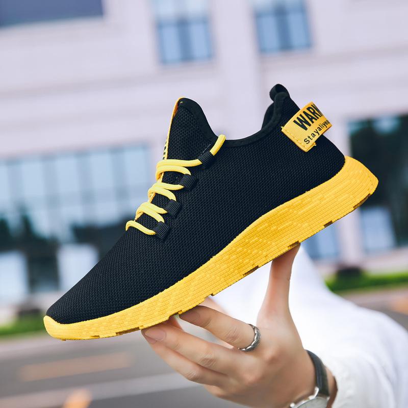 2021 الربيع الجديدة النسخة الكورية من هذا الاتجاه من الأحذية الرياضية تنفس الاحذية الطالب زوجين الأحذية المد جيل من الدهون