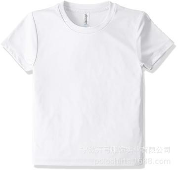 中大童高品质精梳棉圆领t shirts 夏季幼儿班服园服 现货批发