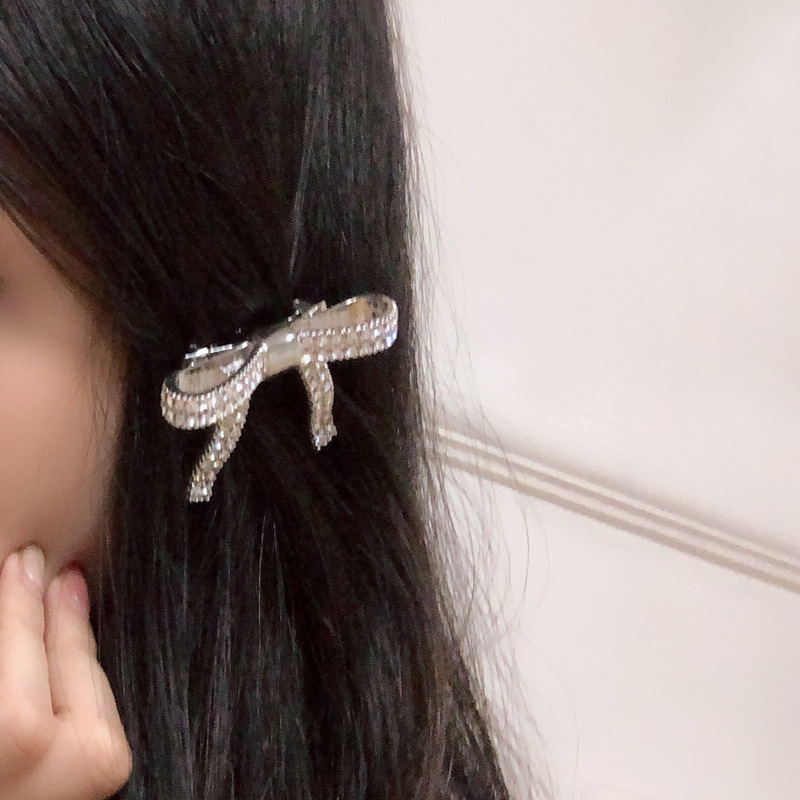 Womens Bow Electroplating Alloy Hair Accessories NHNT134371