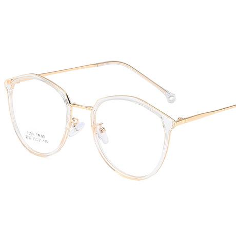Kính mới thời trang siêu nhẹ tr90 khung nữ retro sinh viên văn học cận thị kính cận khung kính cá tính nam khung Khung