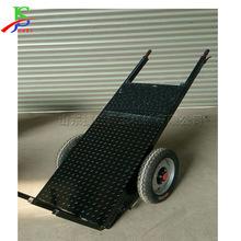 電動手推平板車 建築工地使用電動工具車 電動拉貨車 運送磚坯車