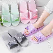 家用浴室拖鞋女夏季情侣室内居家厚底防滑浴室洗澡情侣凉拖鞋男士