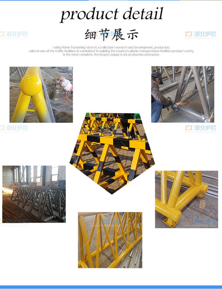 天门蒋湖农场带刺防撞护栏优势展示