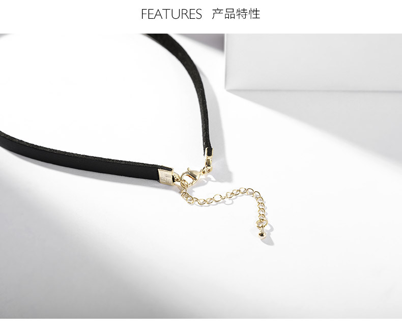 Womens Geometric Metal Choker NHLL137779