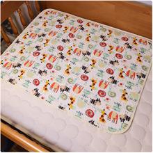 大碼卡通生態棉寶寶防水隔尿墊新生兒尿墊不分層隔尿床墊 70*90cm