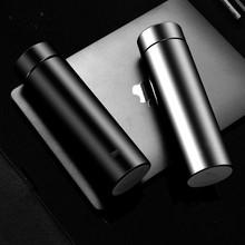新款雙層真空不銹鋼保溫杯商務磨砂水杯年會促銷廣告禮品定制logo