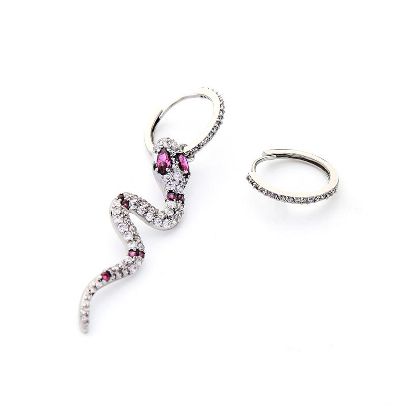 Copper Korea Animal earring  (Photo Color)  Fine Jewelry NHQD6233-Photo-Color