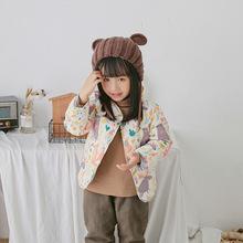 秋冬季新款女童羽絨棉服批發保暖幼兒寶寶中小童裝棉衣內膽內外穿